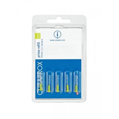 CURAPROX CPS 011 prime refill svetlozelená 5 kusov