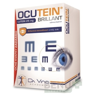 OCUTEIN BRILLANT Luteín 25 mg - DA VINCI tbl 6015ml