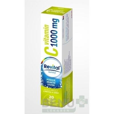 Revital vitamín C 1000 mg šumivý tbl eff 20