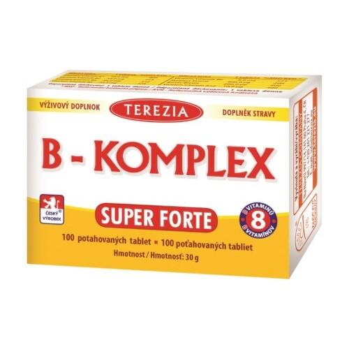 TEREZIA B-komplex super forte 100 tabliet