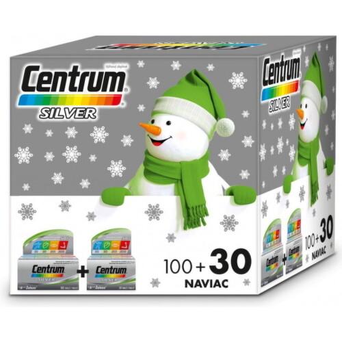 Centrum Silver (Vianočné balenie) tbl 100+30