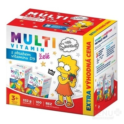 Revital MULTIVITAMÍN The Simpsons 2x50 (100 ks)
