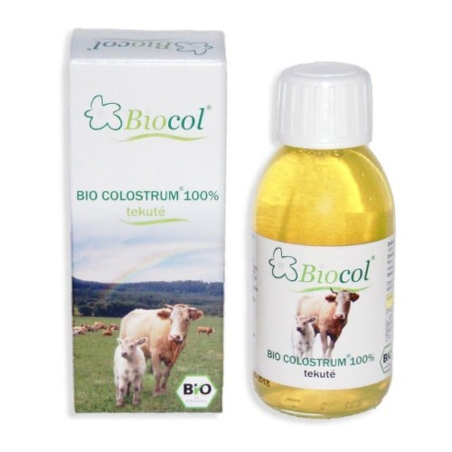 BIO Colostrum 100 percent tekuté 125 ml