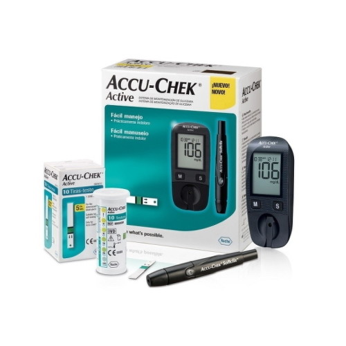 ACCU-CHEK Active kit glukomer 1 set