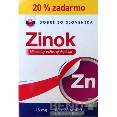 Dobré z SK Zinok 15 mg tbl 100+20