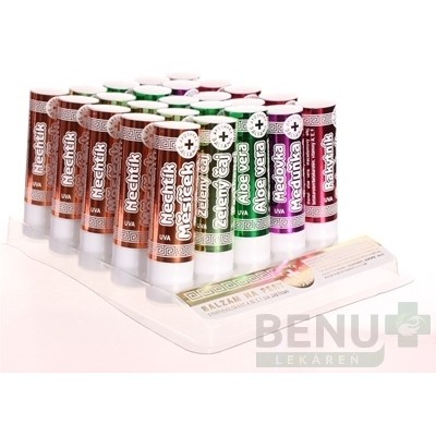 BYLINNÝ PANTHENOL UV Lip stick pack 25 kapsúl