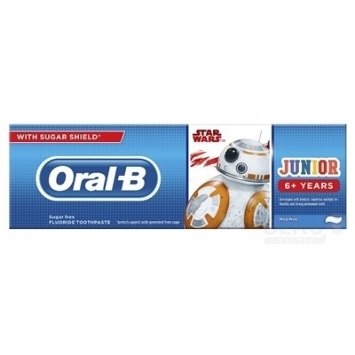 Oral-B JUNIOR Mild Mint Star Wars 75ml