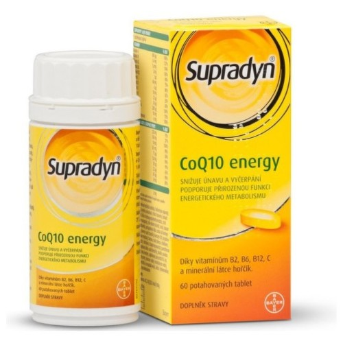 SUPRADYN CoQ10 Energy 60 tabliet