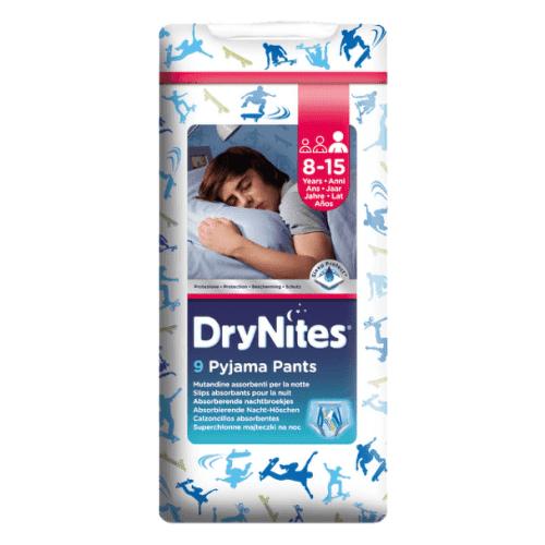 HUGGIES DryNites large pre chlapcov 8-15 rokov 9 kusov
