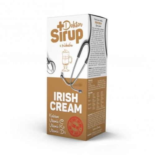 DOKTOR SIRUP Kalciový sirup irish cream 200 ml