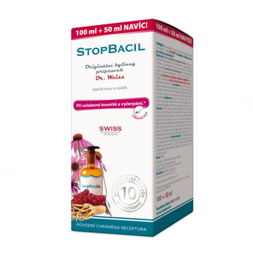 DR. WEISS Stopkašeľ medical sirup 100 ml + 50 ml ZADARMO