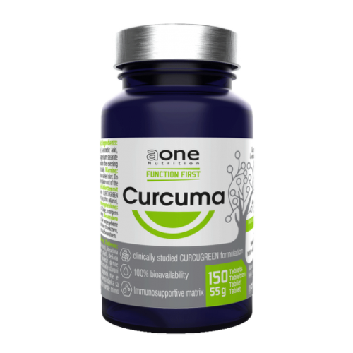 AONE Nutrition curcuma 150 tabliet