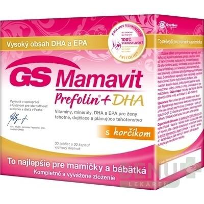 GS Mamavit Prefolin + DHA tbl 30+cps 30