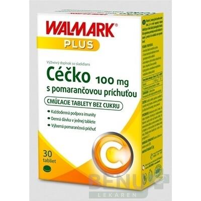 WALMARK Céčko 100 mg 1x30 ks tbl 30