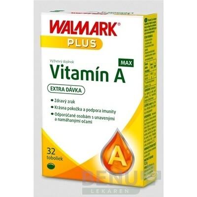 WALMARK Vitamín A MAX (inov. obal 2019) cps 1x32 ks cps 1x32 ks