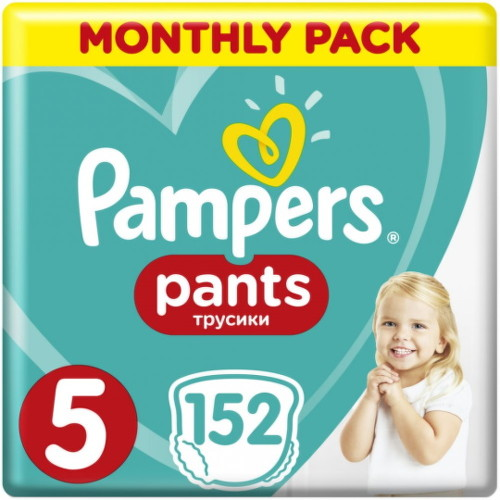 Pampers Pants 5, 12-17 kg 152ks