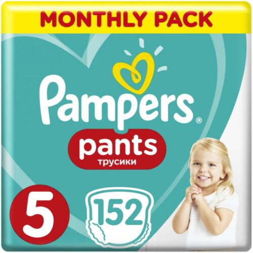 Pampers Pants 5, 12-17 kg 152ks