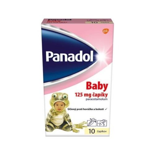 PANADOL Baby 125 mg 10 čapíkov