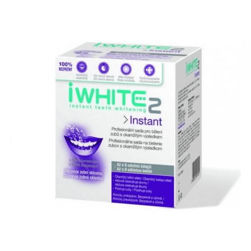 iWHITE 2 Instant sada na bielenie zubov 10 kusov