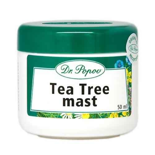 DR. POPOV MASŤ TEA TREE OIL 50ml