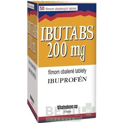 IBUTABS 200 mg 1x50 ks tbl flm 50x200mg
