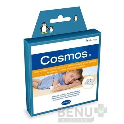 COSMOS chladivý/hrejivý gélový vankúšik 1ks (13x14cm)