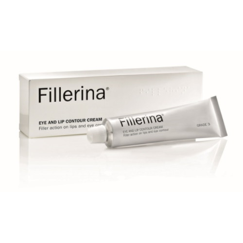 Fillerina Eye and Lip Contour Cream Grade 3 krém na kontúry očí a pier 15 ml