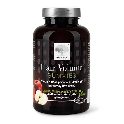 NEW NORDIC hair volume gummies 60 ks