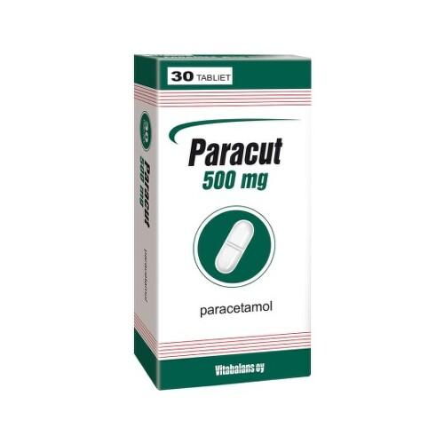 PARACUT 500 mg 30 tabliet