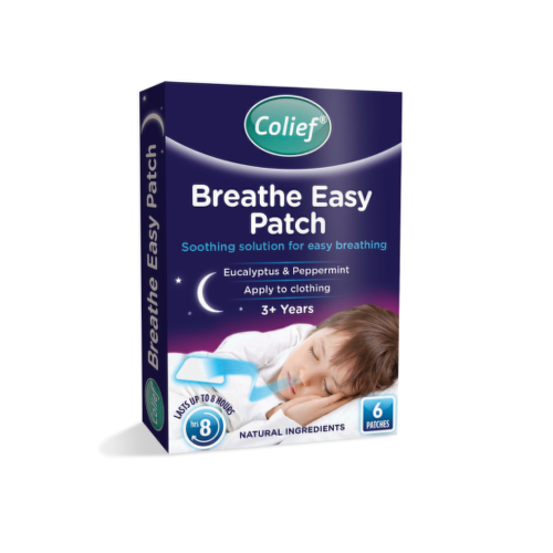 COLIEF Breathe easy patch eucalyptus  peppermint 6 kusov