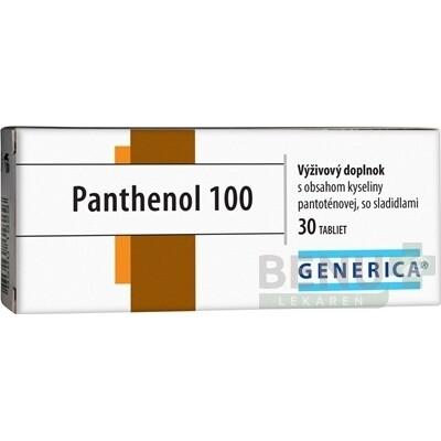 GENERICA Panthenol 100 tbl 30