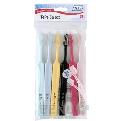 TePe Select X-soft zubná kefka 4+2 zadarmo (6 ks)