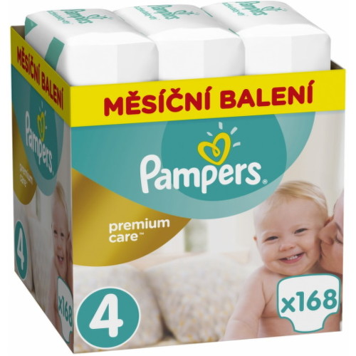 Pampers Premium Care 4 MAXI 9-14 kg 168ks
