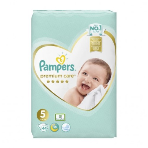 PAMPERS Premium care 5 Junior 44 kusov