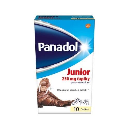 PANADOL Junior 250 mg 10 čapíkov