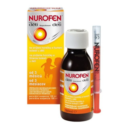 NUROFEN Sirup pre deti 100 ml
