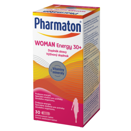 PHARMATON Woman energy 30 30 tabliet