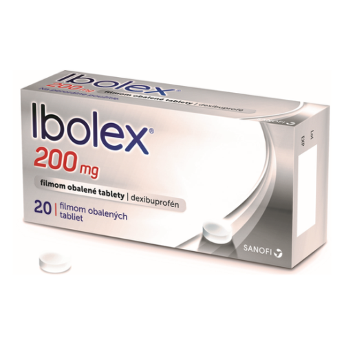 IBOLEX 200 mg 20 kapsúl