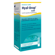 Bausch & Lomb očné kvapky Hyal-Drop Multi 10 ml. gtt oph 1x10ml