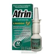 Afrin 0,5 mg/ml nosový sprej s mentolom aer nao 15ml