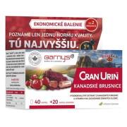BARNY'S CRAN-URIN KANADSKÉ BRUSNICE cps 40+20 zdarma