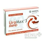 FARMAX UroMax 3 Rapid tbl 10+10 zdarma