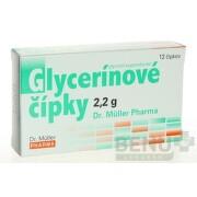 Dr. Müller Glycerínové čípky 2,2 g sup 12x2,2g