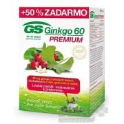 GS Ginkgo PREMIUM 60+30 tbl. zadarmo (90 ks) tbl 60+30
