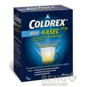 COLDREX Grip plus KAŠEĽ príchuť citrón a mentol plo por 10ks