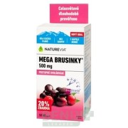 SWISS NATUREVIA MEGA BRUSNICE 500 mg 1x60 ks cps 60