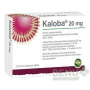 Kaloba 20 mg filmom obalené tablety tbl flm 21