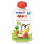 HiPP HiPPis 100% Ovocie Jablko Banán Jahoda 1x100 g