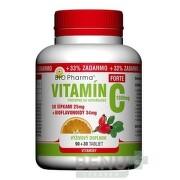 BIO Pharma Vitamín C so šípkami 1000 mg FORTE tbl 90+30 tbl 90+30