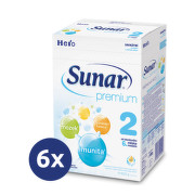 Sunar Premium 2 600g - balení 6 ks